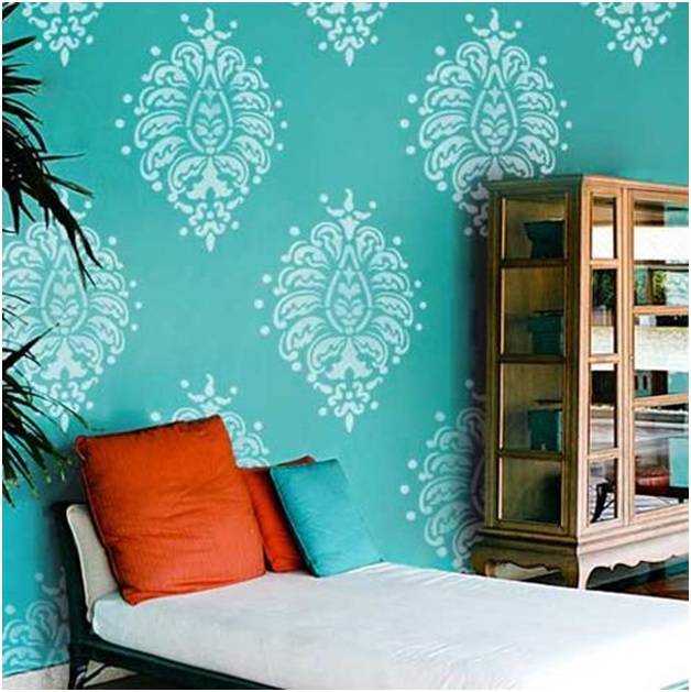 Wall Decor With Stencils