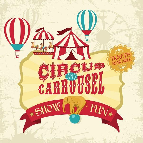 A Circus Banner