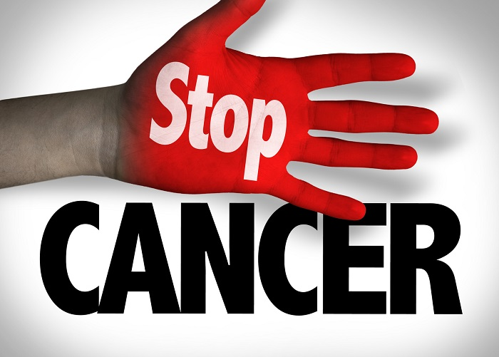 A Stop Cancer Banner