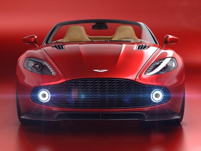 An Aston Martin poster