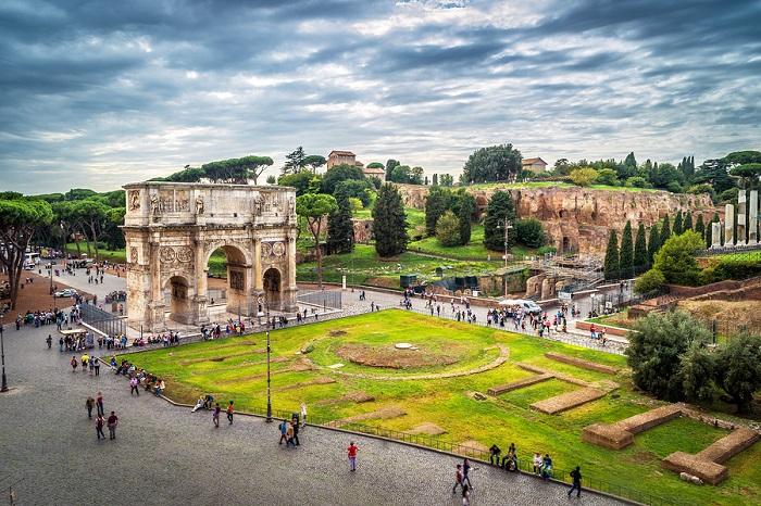 A Rome cityscape