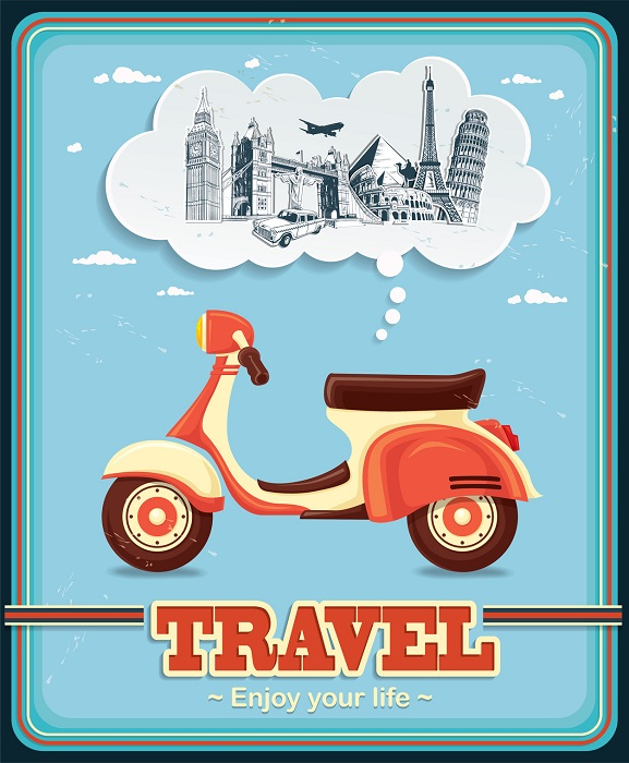 A Vintage Travel Poster