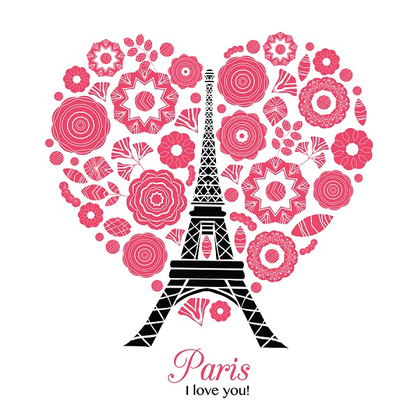 I Love Paris Poster