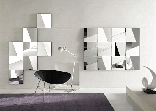 Contemporary Mirror Wall Decor