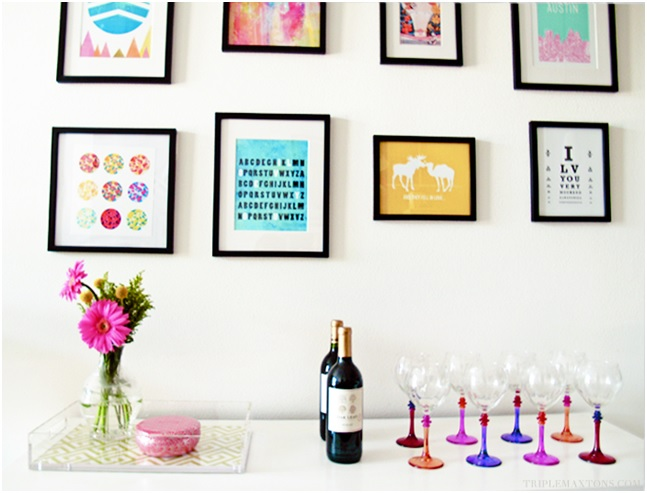 how to create your own wall art decor  14 cool and easy