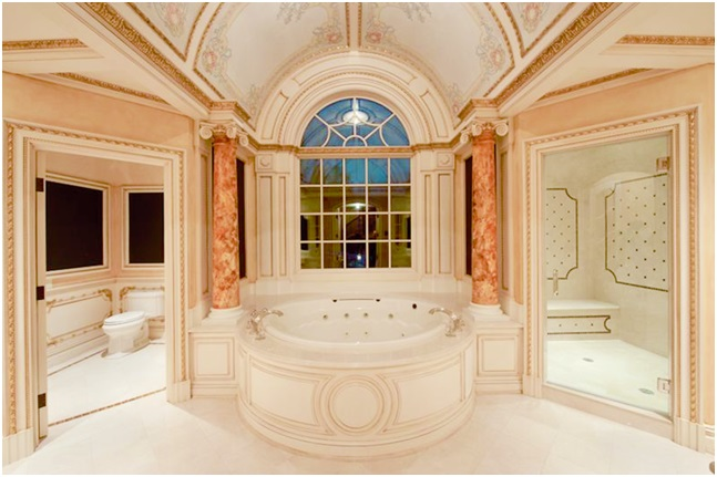 Luxury Bathroom with Moldings