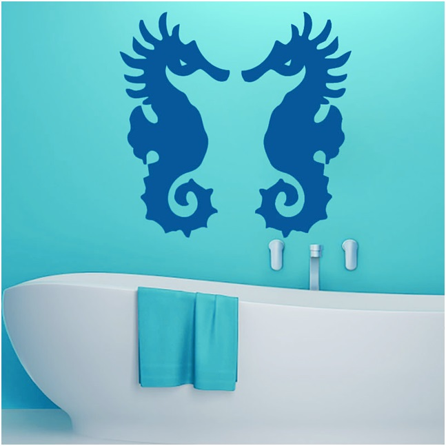 Sea Horse Wall Stickers