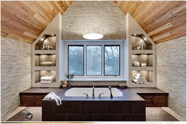 Spa Bathroom Shelving
