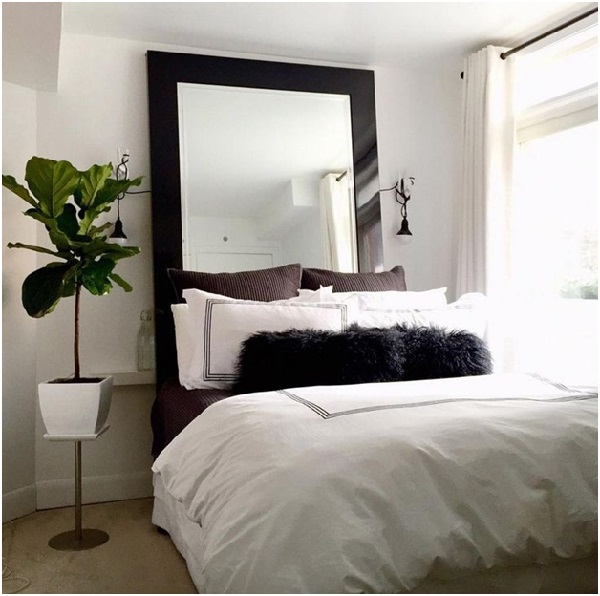 A Mirror for Headboard