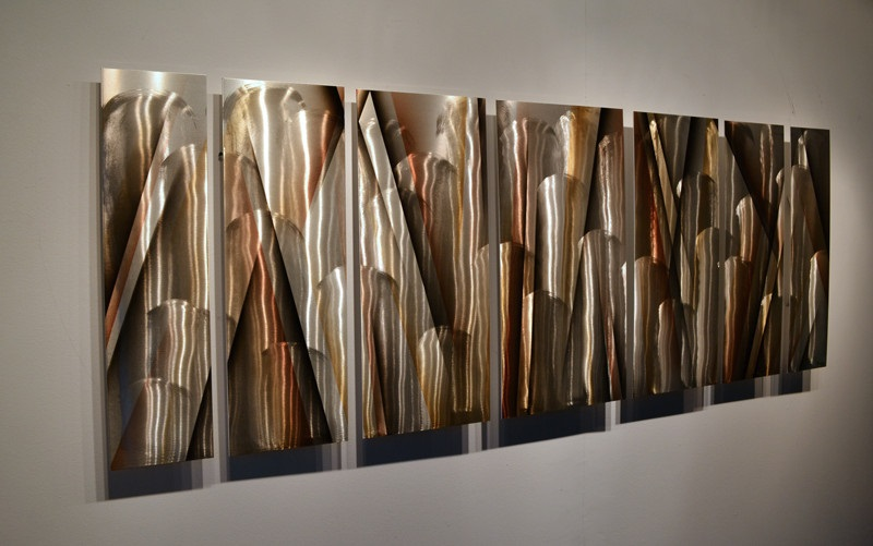 Abstract Art Metal Wall Sculpture