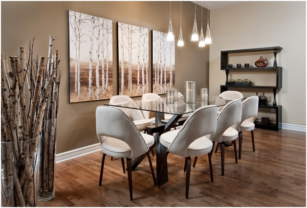 How to make the right choice of dining room wall decor - Dining room wall decor ...