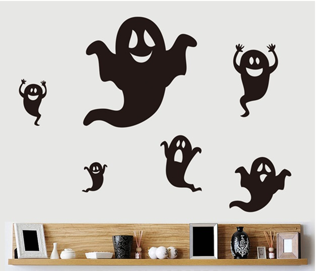 Ghosts Wall Stickers