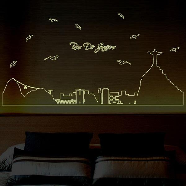 Glow in the Dark Bedroom Wall Decor