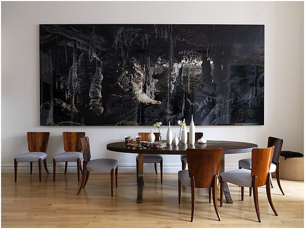 how to make the right choice of dining room wall decor blog. Black Bedroom Furniture Sets. Home Design Ideas