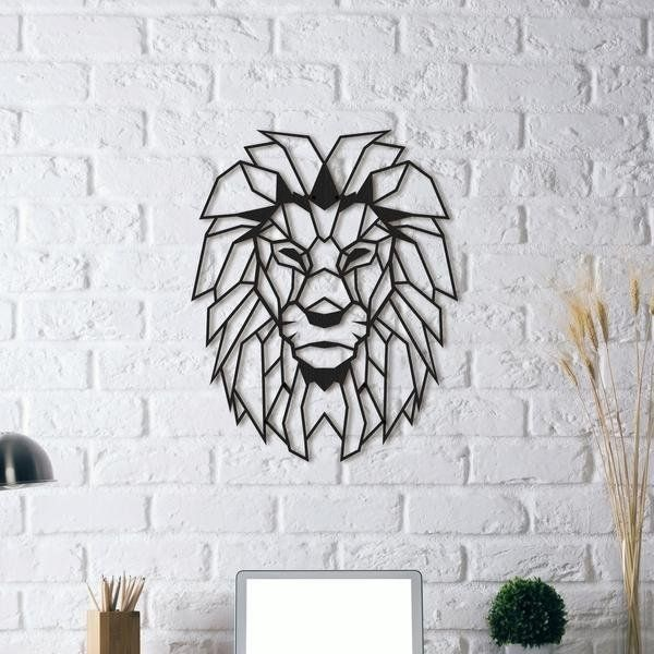 Lion Wall Decoration