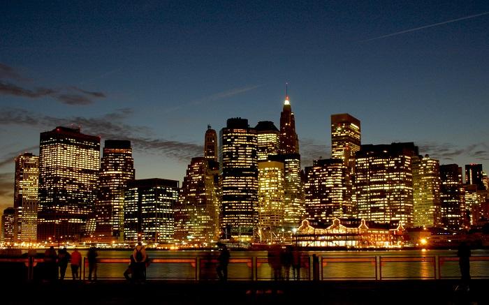 New York City Skyline Poster