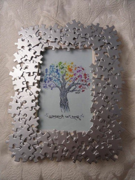 Puzzles Photo Frame
