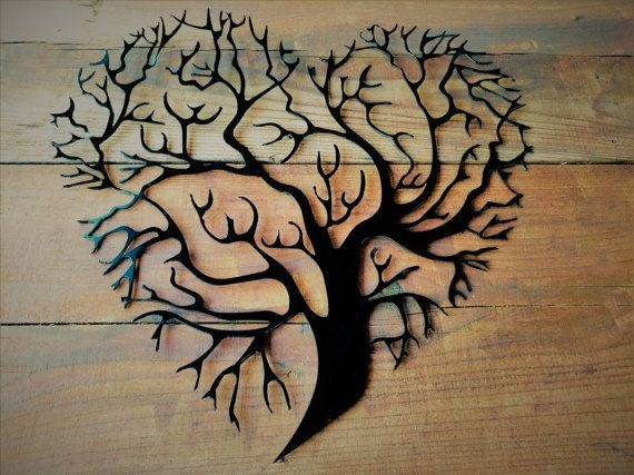 Tree Metal Wall Decoration