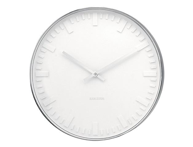 White Wall Clock