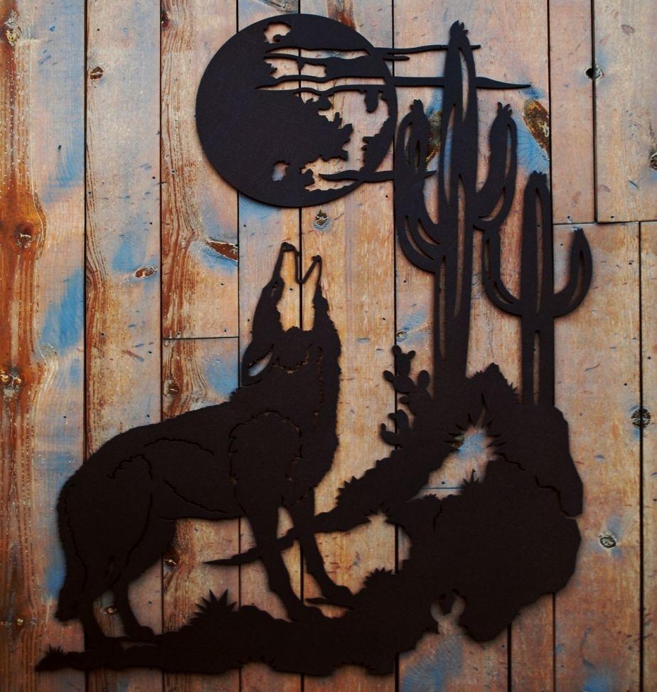 Rustic Metal Wall Art Sculpture