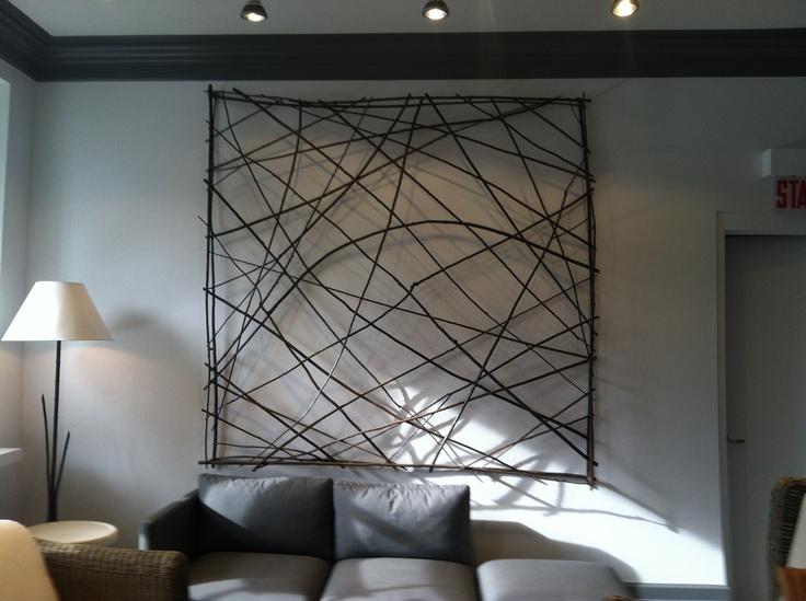 Abstract Wrought Iron Wall Art