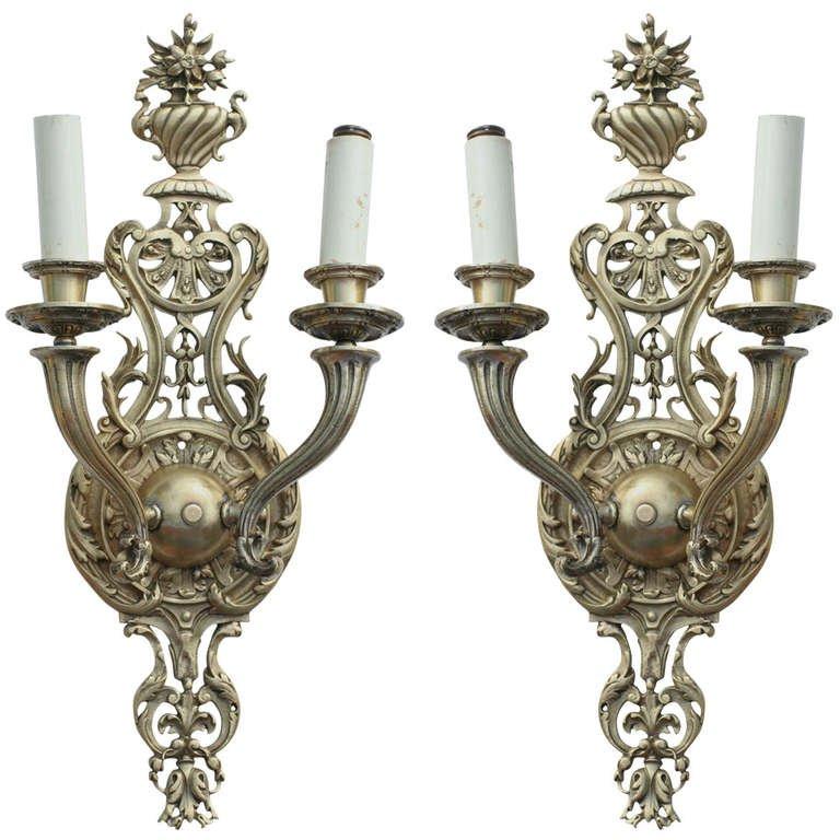 Antique Candle Sconces