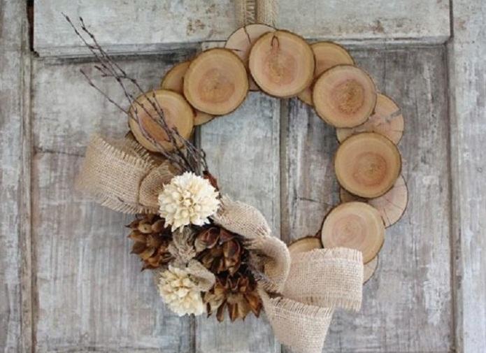 DIY Wood Wall Wreath