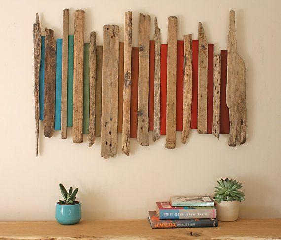 Wood Wall Sculpture