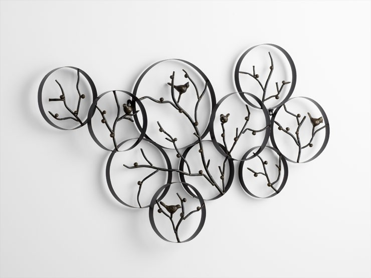 Branch Iron Wall Decor