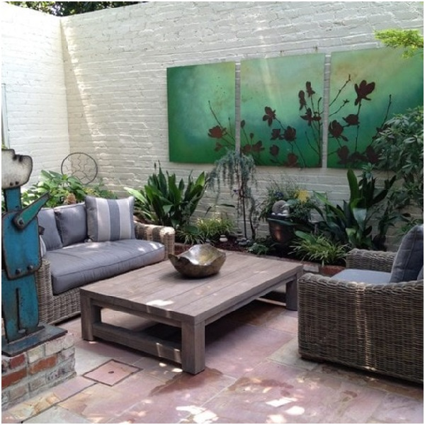 9 Amazing Ideas of Outdoor Wall Decor | PrintMePoster.com Blog on Outdoor Garden Wall Art Ideas id=71144