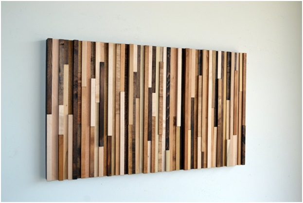 Reclaimed Wood Wall Decoration