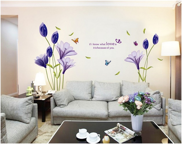 25 Cute Ways of Decorating Home with Wall Decor Stickers ...