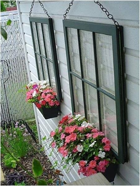 Windows Outdoor Wall Decor