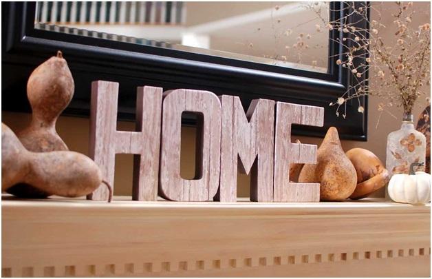 Wood Letters Decoration