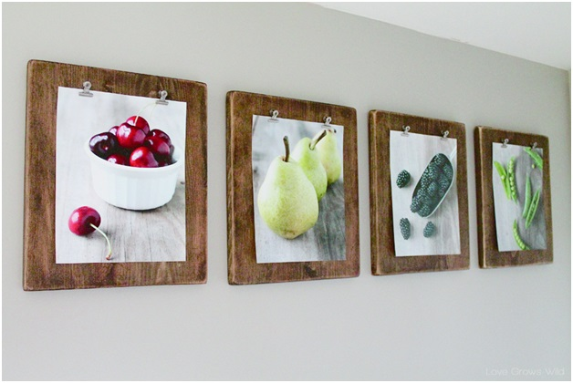 Wooden Photo Clipboards