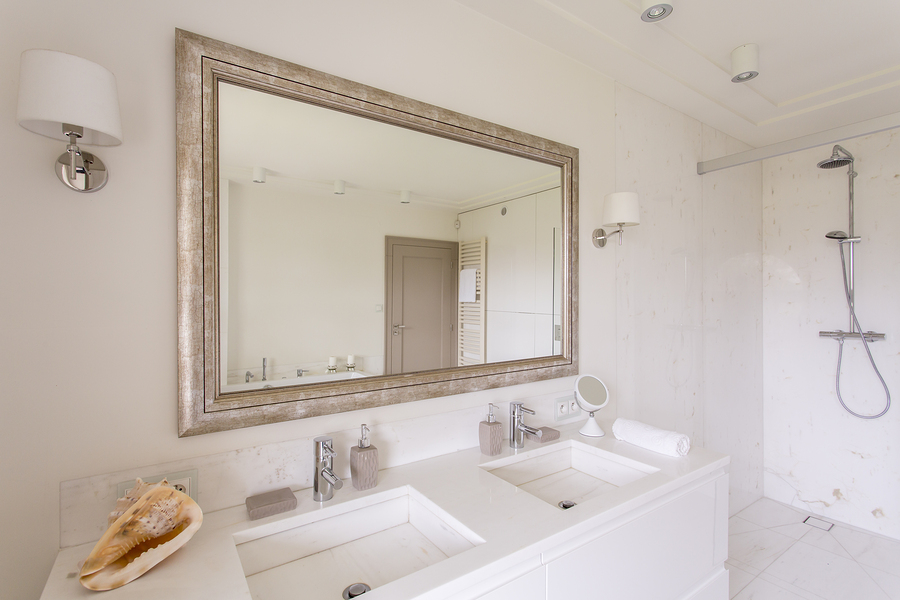 types of bathroom mirrors 9 basic types of mirror wall decor for bathroom 21077