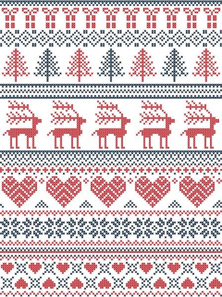Scandinavian Pattern Print