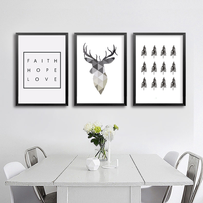 How to Decorate Walls in Scandinavian Style: Living Room Wall Decor ...
