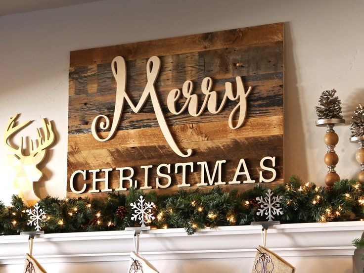 How to enhance home with christmas wall decor