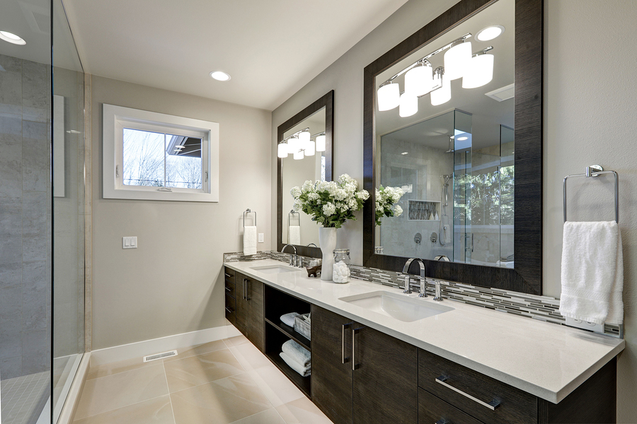 9 Basic Types Of Mirror Wall Decor For Bathroom