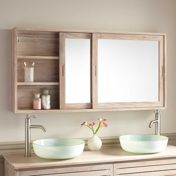 Mirrored Cabinet: 9 Basic Types Of Mirror Wall Decor For Bathroom
