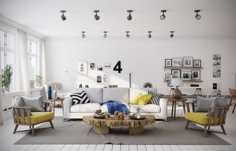 Nice Scandinavian Home Decor