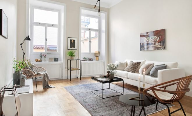 How To Decorate Walls In Scandinavian Style Living Room