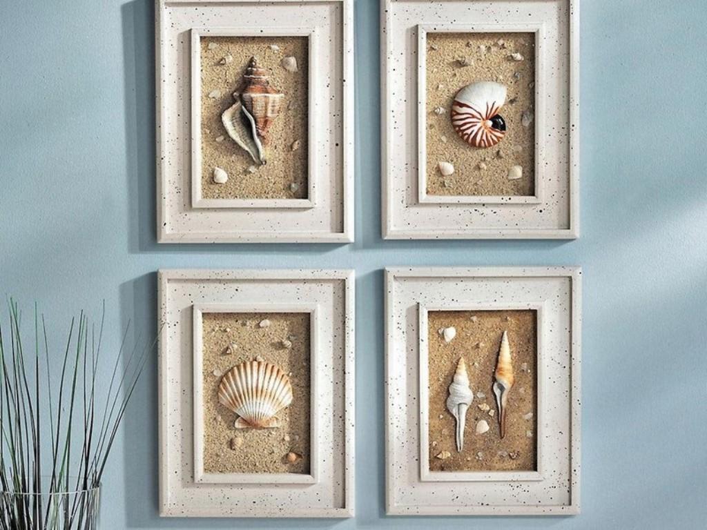 Seashell Bathroom Decor Ideas: 17 Marvelous Nautical Wall Decor Ideas