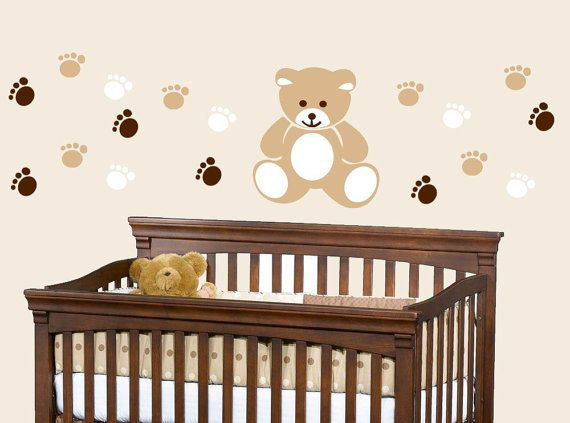 Teddy Bear Wall Decor for Nursery