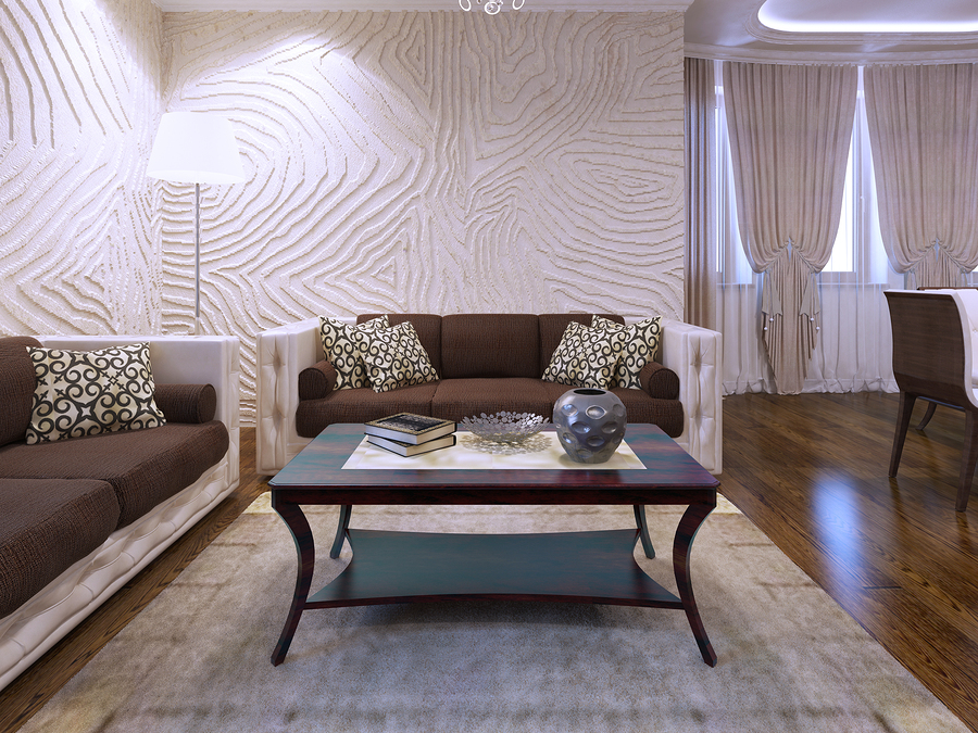 How to Add 3D Wall Decor to Your Living Room ...