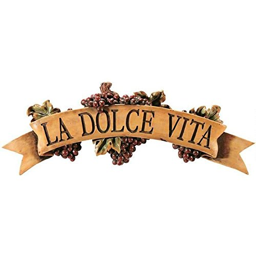 Dolce Vita Wall Plaque