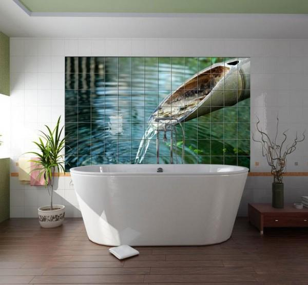 Nature-Inspired Wall Mural