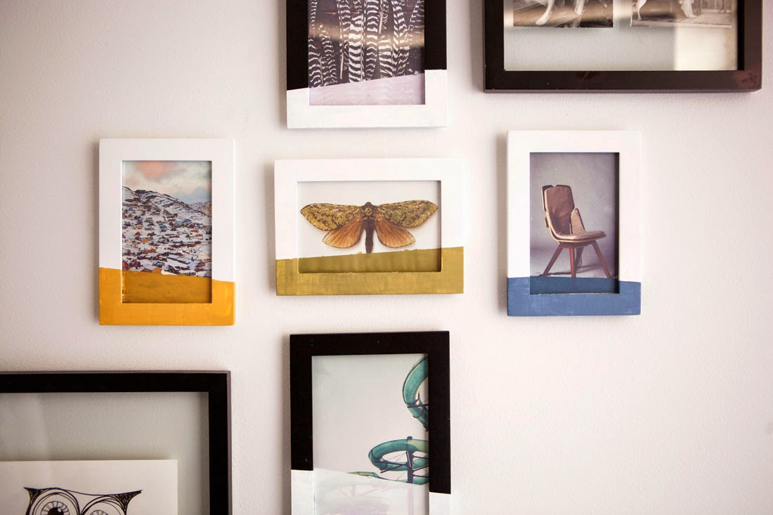 Dipped Wall Frames