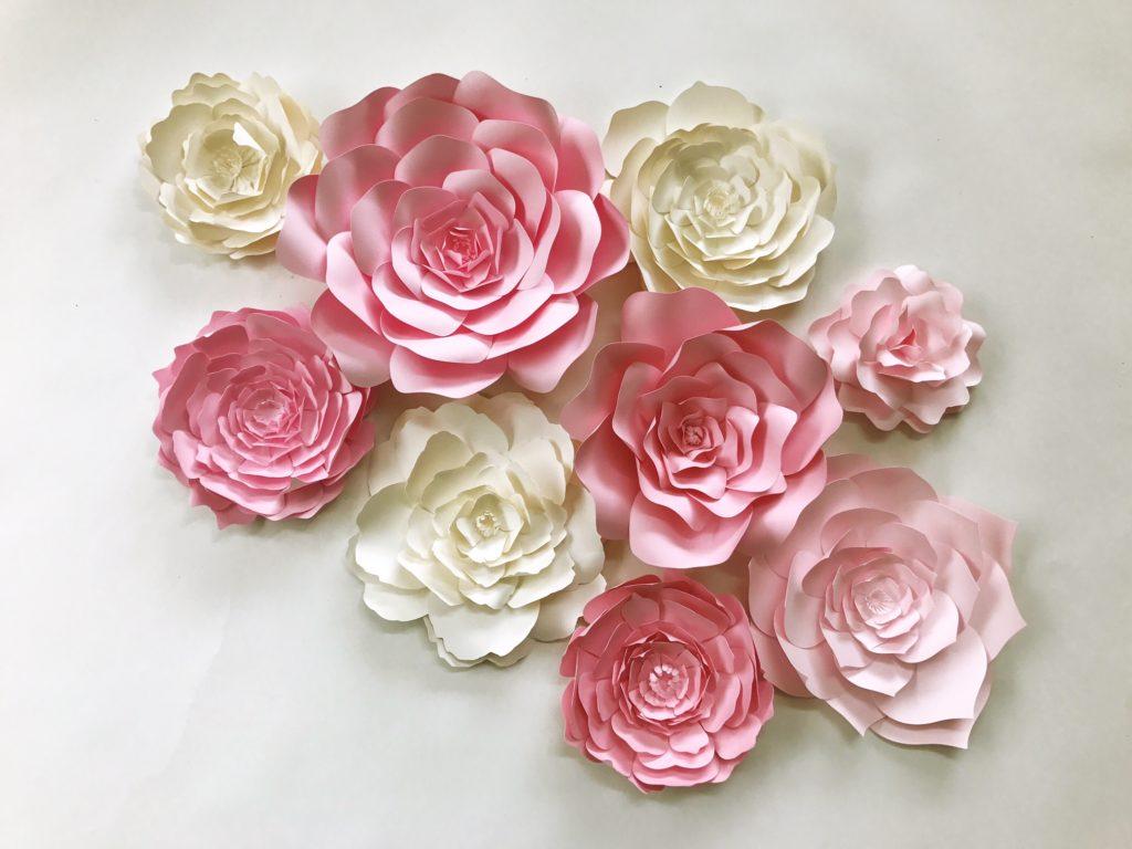 Paper Flowers Wall Art